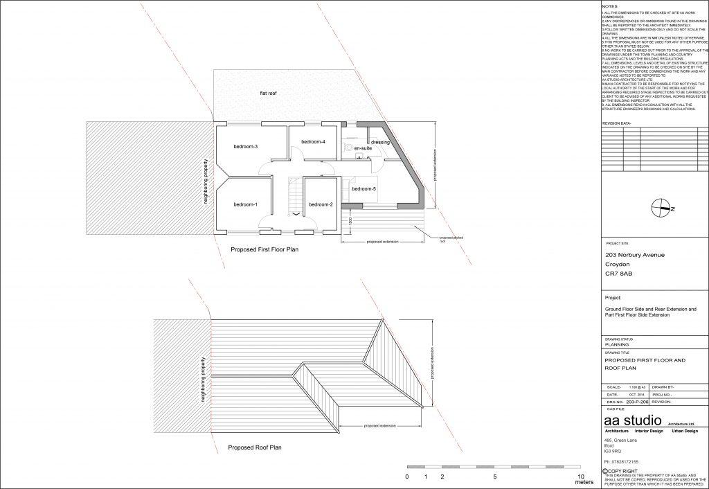Double Storey Side Extension Croydon