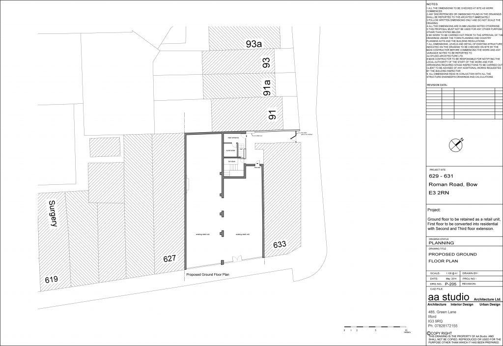 Architecture Services Whitechapel