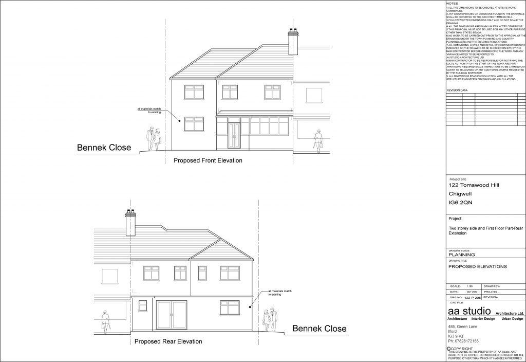 Planning Permission Chigwell