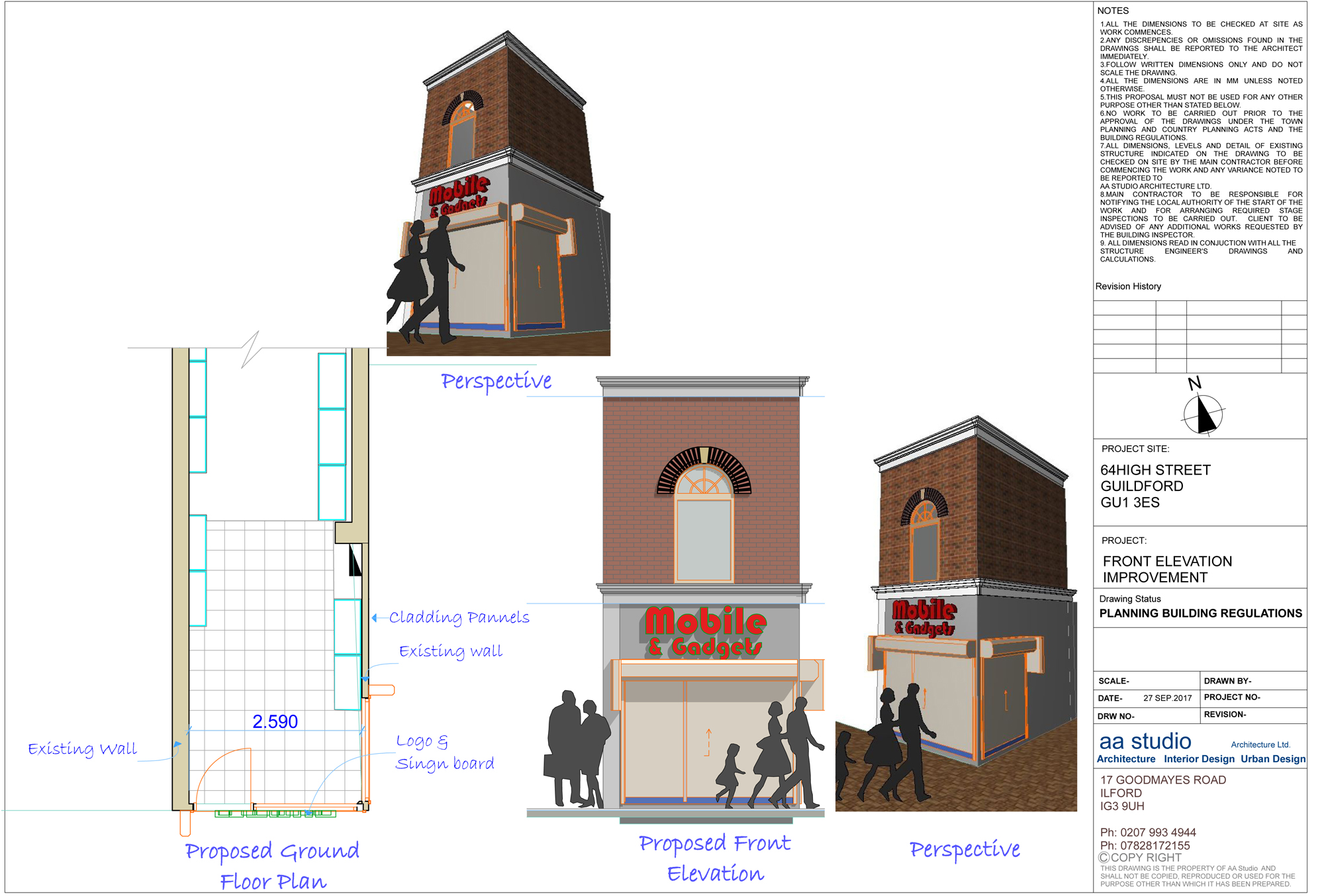 A3 Planning Permission London