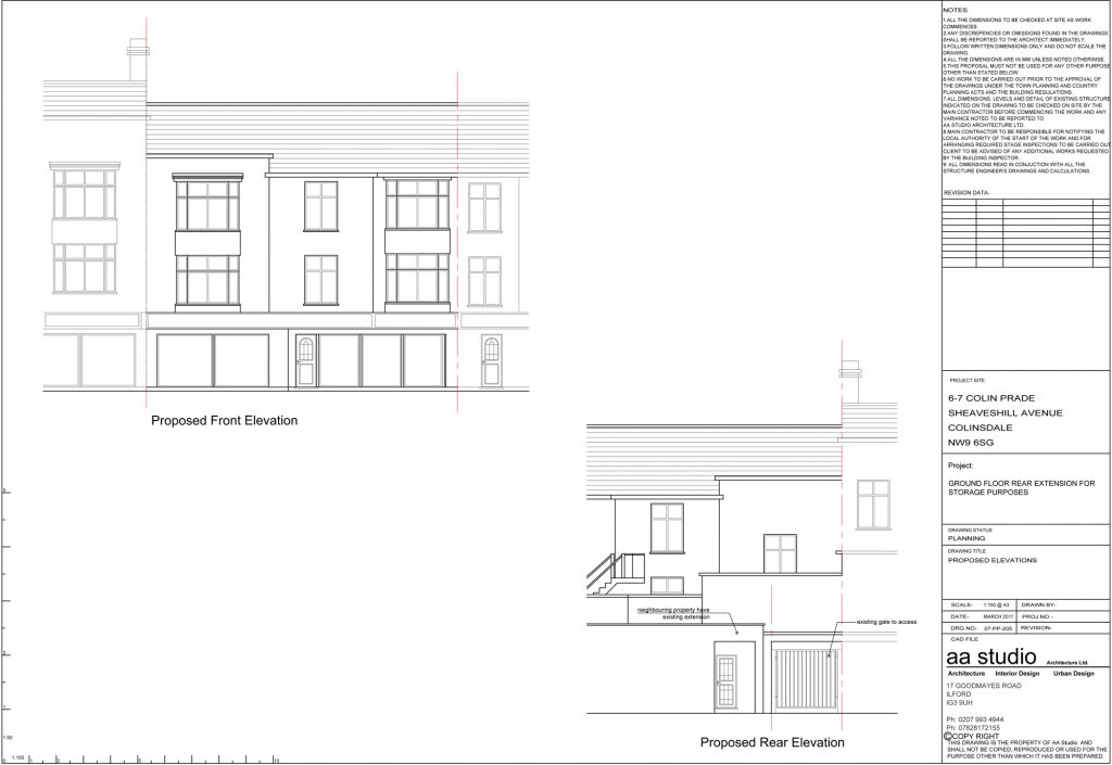 Architecture Planning Permission Colinsdale