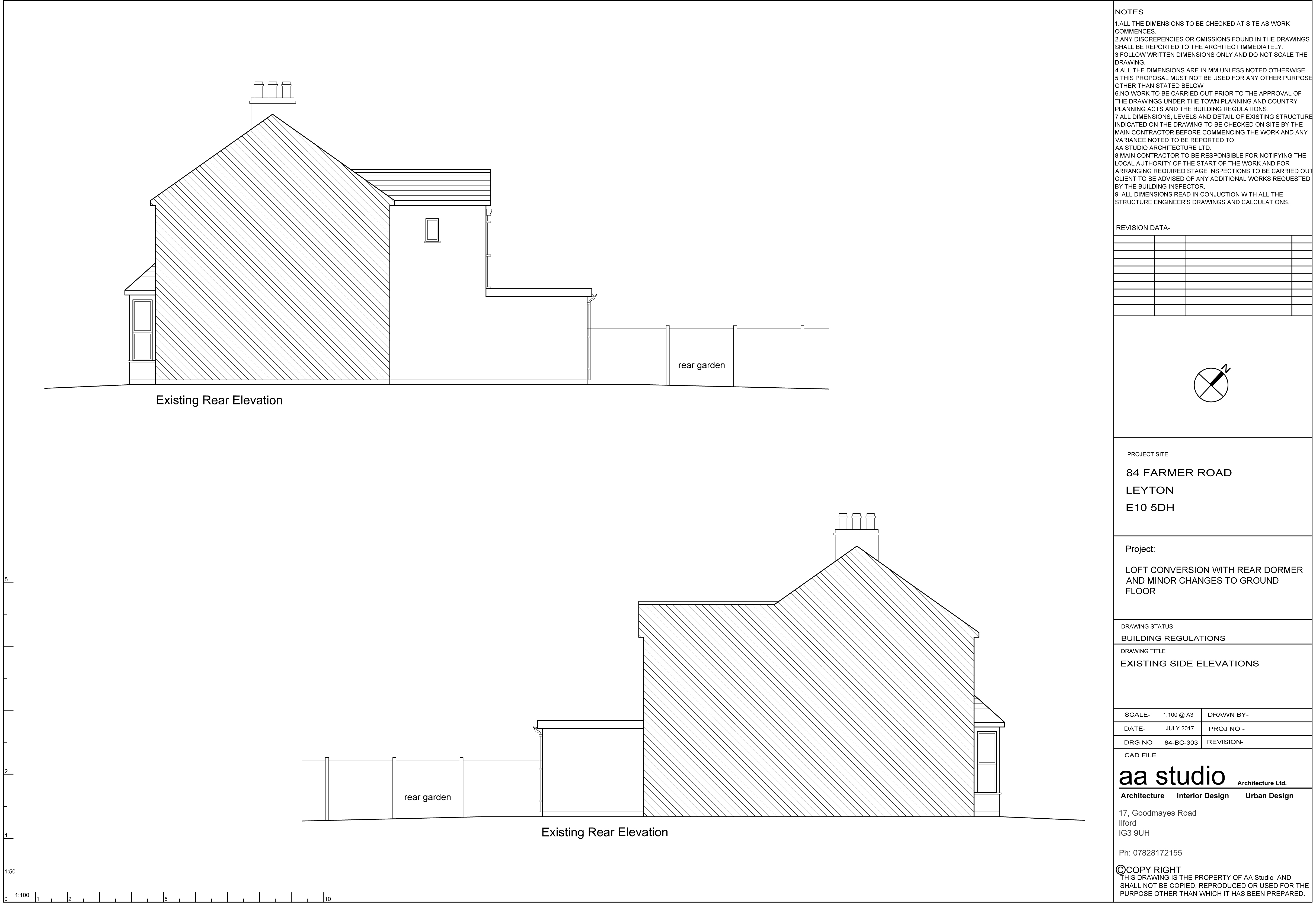 Planning Application Walthamstow